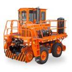 Orange Rail King machine