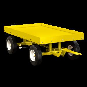 Motrec Trailer T20 yellow graphic
