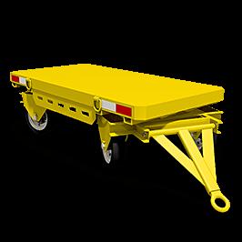 Motrec Trailer T70 yellow graphic small