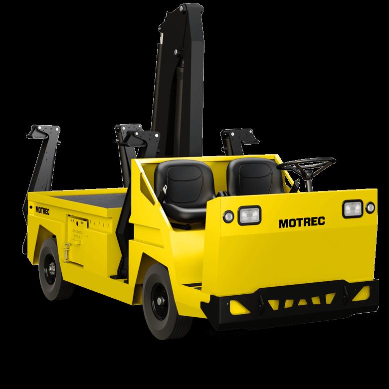 Motrec MX 480 Crane Truck graphic
