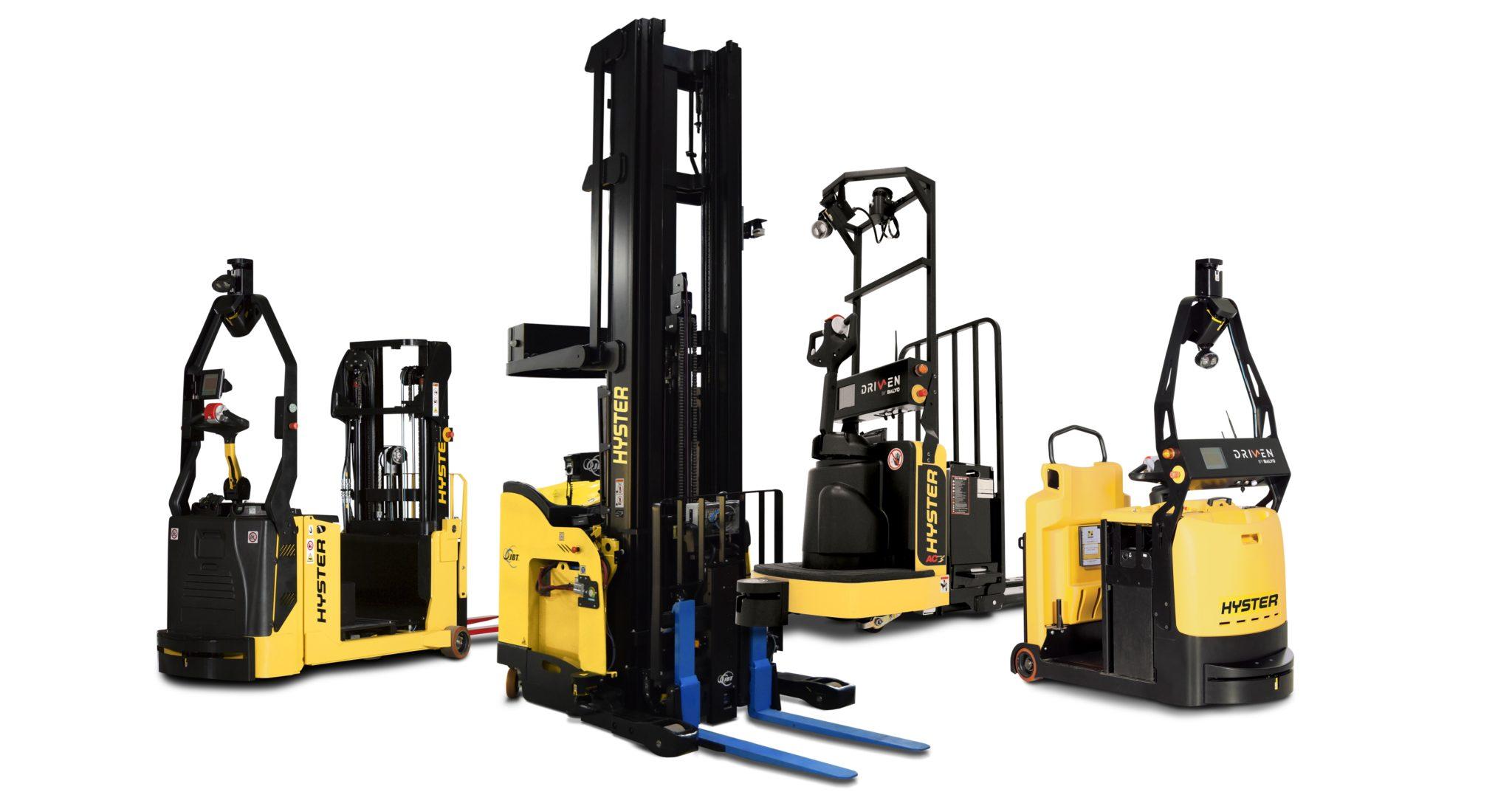 Hyster Robotic Forklifts