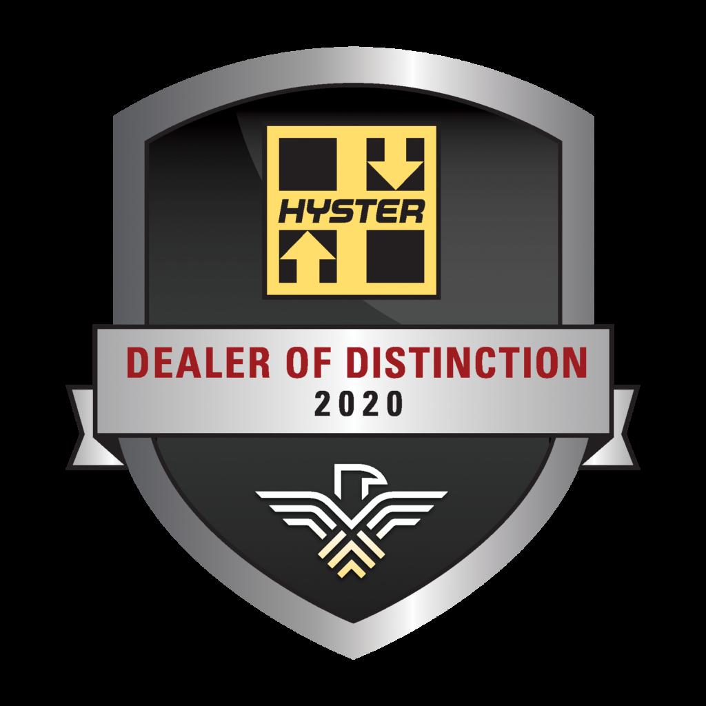 dealer of distinction 2020 badge