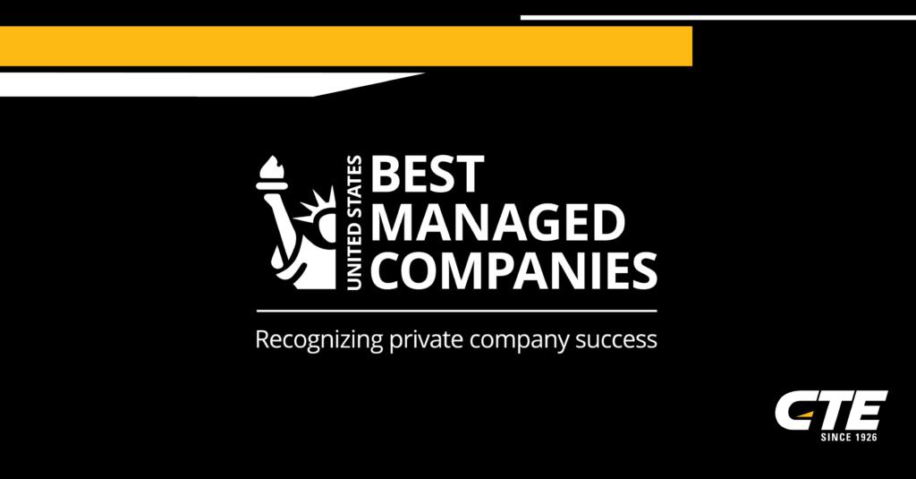 best managed companies logo