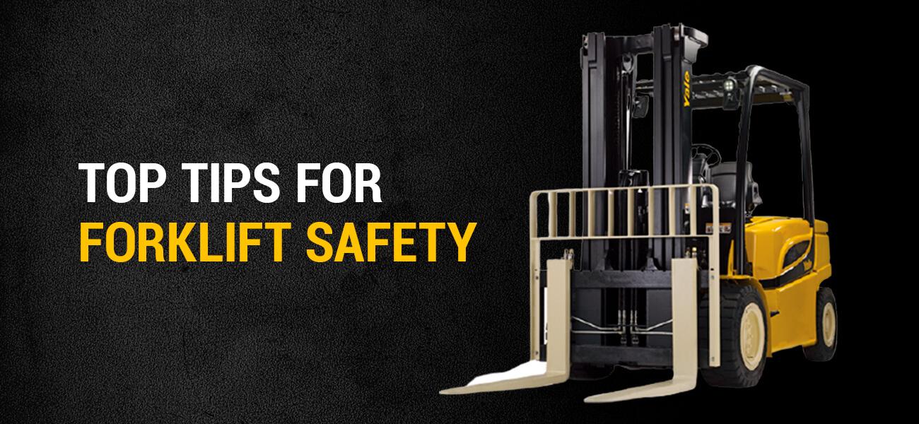 Top Tips for Forklift Safety